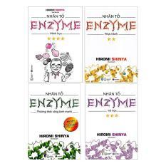 Bộ sách Nhân Tố Enzyme – Trọn bộ 4 cuốn – Hiromi Shinya – NXB Thái Hà – Chìa khóa cho sức khỏe của bạn