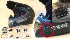 Combo 4 bộ pass gắn Camera( 2 đế cong và 2 đế bằng)