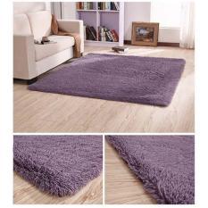 Thảm lông cao cấp trải sàn phòng khách1m6x2m