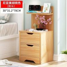 Kệ gỗ 4 tầng để đồ siêu xinh loại 2 ngăn kéo