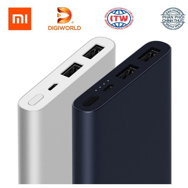 Nên mua Pin sạc dự phòng Xiaomi 10 000 mAh Gen 2s Quick Charge 3.0 – Hãng phân phối chính thức Digiworld ở Thế Giới Tin Học (Tp.HCM)