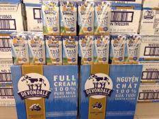 Sữa Devondale full cream 200ml