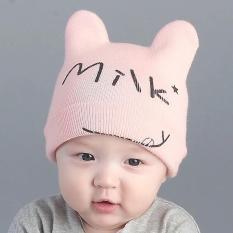 Mũ len milk cho bé trai -bé gái