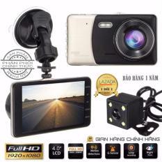 Camera hành trình xe hơi X002 HD1080 tích hợp cam lùi