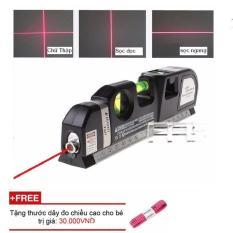 Thước đo khoảng cách bằng tia laser PRO3 (Đen) + Tặng thước dây đo chiều cao