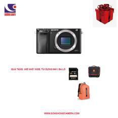 Máy ảnh Sony Alpha a6000 (Body, Chính Hãng) Tặng thẻ nhớ 16gb, túi đựng máy, ba lô