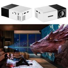 May chieu cho dien thoai-May chieu mini cam tay-Galaxy K-Máy chiếu màn hình LCD TFT HD1080 YG300 MINI LED nhỏ gọn thông minh