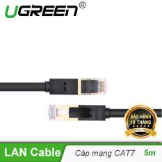 Cáp mạng 2 đầu đúc bọc hợp kim Cat7 UTP Dài 5m UGREEN NW107 11271 – Hãng phân phối chính thức