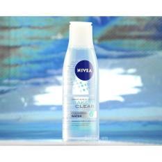 Nước tẩy trang Nivea không chứa cồn 125ml – Chai xanh cho da nhờn