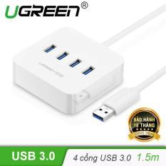 Bộ chia USB 3.0 ra 4 cổng hỗ trợ nguồn DC 5V/2A dài 1,5m UGREEN CR118 30221 – Hãng phân phối chính thức