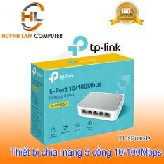[Nhập ELAPR21 giảm 10% tối đa 200k đơn từ 99k]Bộ chia mạng 5 cổng – Switch 5 port TPLink SF1005D FPT phân phối