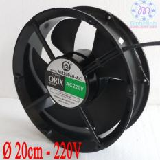 Quạt thông hút gió hình tròn Orix Ø 20 cm – 220V