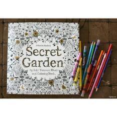 Postcard tô màu khu vườn bí mật ( 30 thẻ )