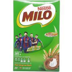 Thức uống từ mầm lúa mạch Milo Nestlé hộp giấy 285g
