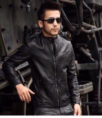 Áo khoác da nam Hàn Quốc phối túi ngang cực chất – Thời Trang Havis – ADCVN005