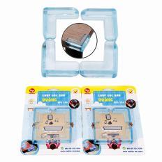 Combo 8 dụng cụ bọc góc cạnh bàn ghế, kệ tủ cao cấp bảo vệ an toàn cho bé