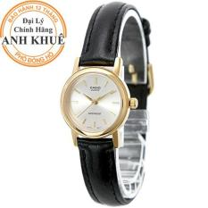 Đồng hồ nữ dây da Casio Anh Khuê LTP-1095Q-7A