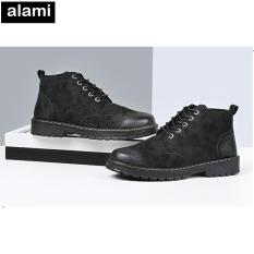 Giày Bốt Cao Cấp Alami GB02