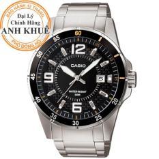 Đồng hồ nam dây kim loại Casio Anh Khuê MTP-1291D-1A2VDF