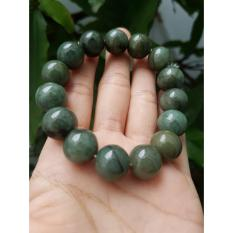 Vòng tay thạch anh xanh ghi – xưởng buôn đá phong thủy Huỳnh Đào