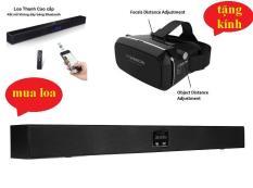 Loa thanh soundbar CSB D21 cao cấp + TẶNG kèm bộ kính thực tế ảo VR Shinecon xem phim 3D trên điện thoại cực hot