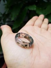 Nhẫn băng ngọc thủy tảo – xưởng buôn đá phong thủy Huỳnh Đào