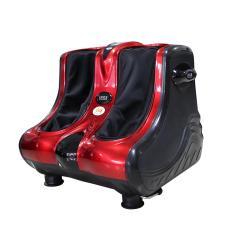 Máy massa chân 3D nhật bản LEG có hồng ngoại (đỏ đen)