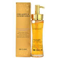 Gel tinh chất vàng dưỡng trắng tái tạo da Collagen & Luxury Gold 3W Clinic (150ml)