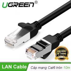 Cáp mạng Cat6 UTP 24AWG đầu bọc kim loại dài 10m UGREEN NW101 – Hãng phân phối chính thức