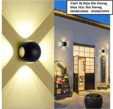Đèn trang trí hắt tường 4 chiều – 12w chống nước TN198 (Trắng/Đen)