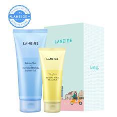 Bộ quà tặng sữa tắm gel hương nước hoa Laneige Relaxing Musk Perfumed Bath & Shower Gel