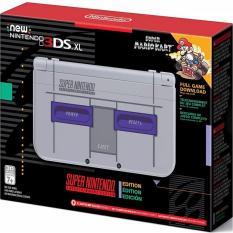 Máy Chơi Game Nintendo New 3DS XL Super NES Edition và Thẻ Nhớ 32G (Hacked)
