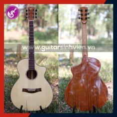Guitar Gỗ thịt nguyên tấm Mahogany Cao cấp