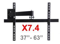 Khung treo Tivi LCD – LED – Plasma Xoay cao cấp 37 – 63 inch X7.3 (Đen) – BetterLife ( Có Clip hướng dẫn lắp đặt )