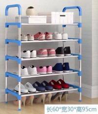 Kệ để giày dép 5 tầng gọn gàng khung inox loại 1