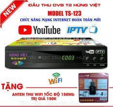 Đầu thu DVB-T2 Hùng Việt TS123 Internet tặng kèm anten wifi