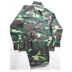 Bộ quần áo rằn ri bộ đội số 5 (Vừa cao 1.69m – 1.72m/Vừa nặng 57kg – 60kg)