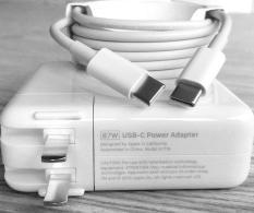 Sạc laptop Macbook 20V-4.3A/ 9V-3A/ 5.2V- 2.4A (87W chuẩn USB-C) – Hàng nhập khẩu