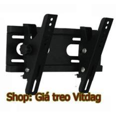 Giá treo tivi nghiêng (gật gù) 24-40″, khung kệ treo tường Tivi.