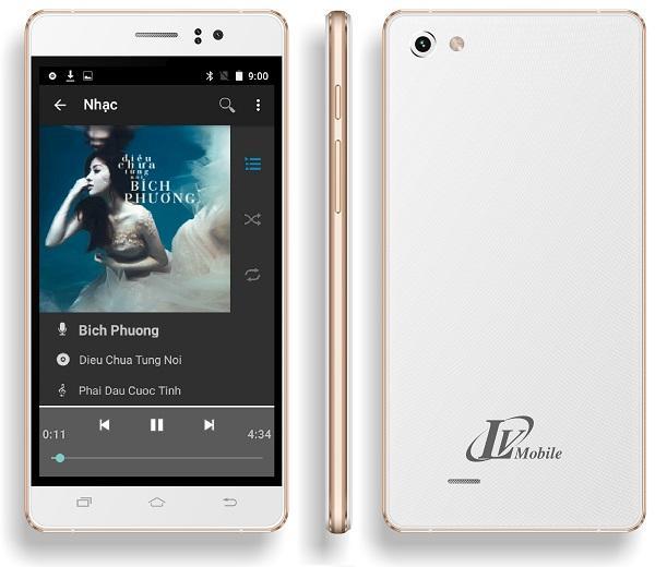 Điện thoại Smartphone LV318 màn hinh 5 inch Rom 4Gb Kết nối 3G Wifi hệ điều hành Android + Tặng...