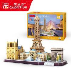 Đồ chơi xếp hình 3D cỡ lớn – Mô hình thành phố Paris thu nhỏ