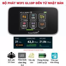 Thiết Bị Phát Wifi Từ Sim 3G 4G Huawei GL10P – Kết Nối Nhiều Thiết Bị , Pin Bền, Màn Hình Cảm Ứng
