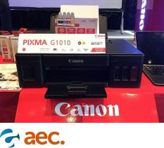 Máy in Canon G1010 thay thế Canon G1000 ( đã gồm 4 bình mực chính hãng đi kèm )
