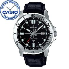 Đồng hồ nam dây da Casio Standard Anh Khuê MTP-VD01L-1EVUDF