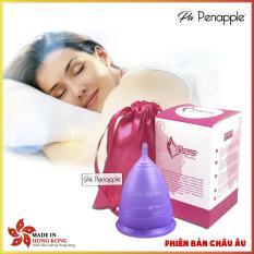 Cốc nguyệt san silicone Aneer (Tím Nhạt) thay thế băng vệ sinh và tampon – sản xuất tại Hồng Kông