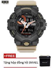 Đồng hồ điện tử thể thao nam SMAEL dây Silicon PKHRSM010
