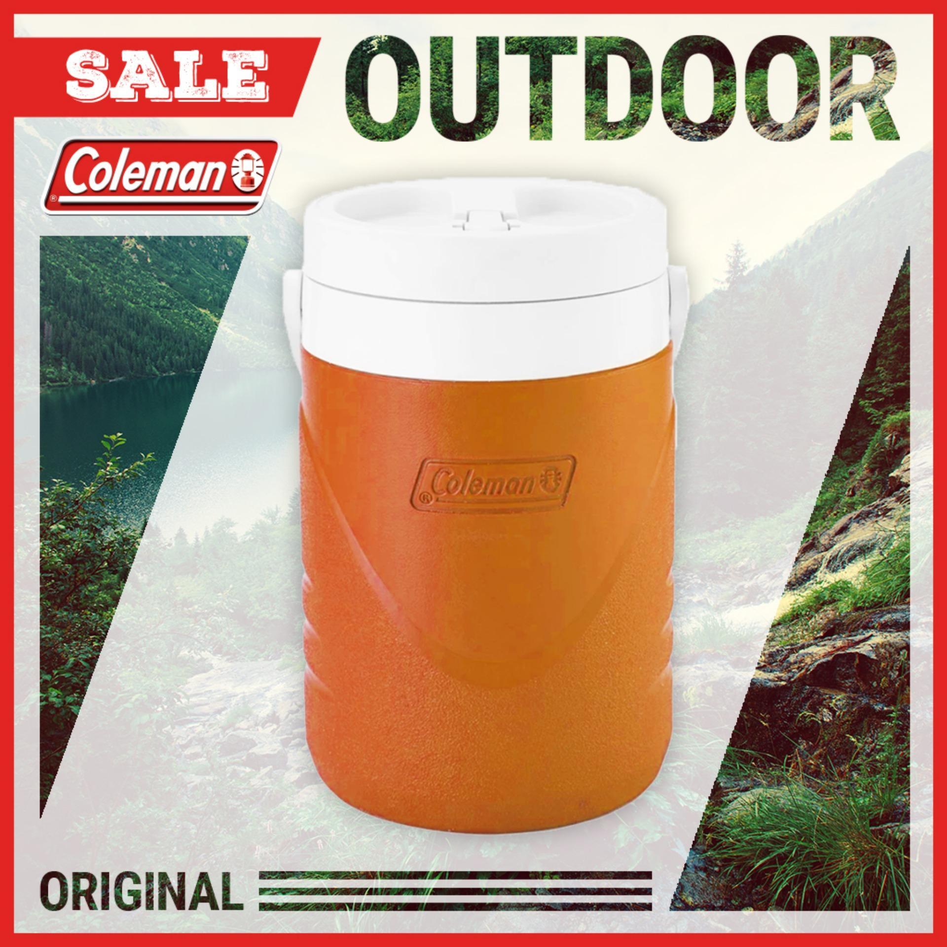 Bình giữ nhiệt Coleman 3.8L (Cam) - Hãng phân phối chính thức