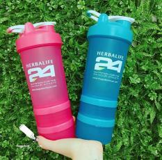 Bình lắc trộn smart shake, Herbalife, đựng nước, trà, bột F1