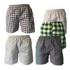Combo 5 quần ngủ nam mặc nhà lưng bo QDN01 – 04 (nhiều màu)