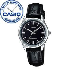 Đồng hồ nữ dây da Casio Standard Anh Khuê LTP-V005L-1AUDF